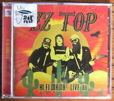 ZZ TOP Hi-Fi Mama … LIVE '80 CD (2016) NEW & SEALED