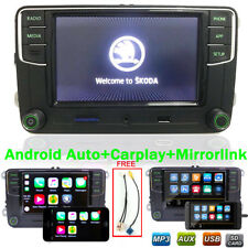 Autoradio RCD330 Carplay Mirrolink Bluetooth Android Auto RVC USB pour VW SKODA