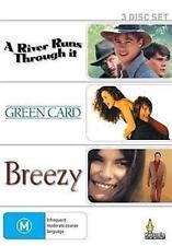A RIVER RUNS THROUGH IT/GREEN CARD/BREEZY: 3DVD NEW