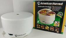 New Listing American Harvest Snackmaster 2400 4 Tray Dehydrator Model Fd 50