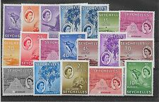 Elizabeth Mint Hinged Seychelles Stamps (Pre-1976)