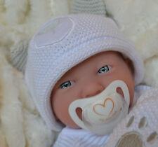 PJs Lil` Teddy ❤ BERENGUER LA NEWBORN + MANY EXTRAS BABY DOLL FOR REBORN / PLAY
