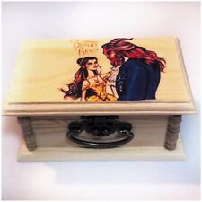 Beauty and the beast, Trinket box, jewelry box, Storage, Disney, Keepsake box