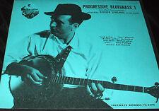 ROGER SPRUNG Progressive Bluegrass 1 LP FOLKWAYS BANJO