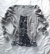 Jolies Dames Pull-over Coton agneaux laine nylon, Fashion Union, Gris, Pulls