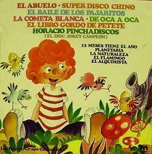 CANCIONES INFANTILES-GRUPO CARANTOÑA LOS PEQUES LP VINILO 1981 SPAIN