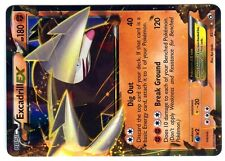 POKEMON BW11 BLACK & WHITE LEGENDARY TREASURES HOLO N°  82/113 EXCADRILL EX