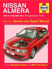 Haynes Nissan Almera 1.4 1.6 Petrol 1995-2000 Manual 4053 NEW