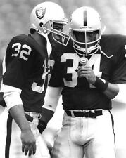 Los Angeles Raiders BO JACKSON & MARCUS ALLEN 8x10 Photo Football Print Poster