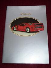 Modellismo Auto - Catalogo BBURAGO 1989