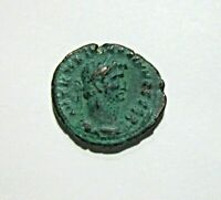 EGYPT, ALEXANDRIA, BILLON TETRADRACHM, GALLIENUS, 266-267 AD. EAGLE REVERSE.