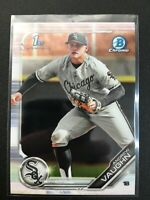 F68155  2019 Bowman Chrome Draft #BDC100 Andrew Vaughn WHITE SOX