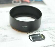 USA 52mm Pro Metal Lens Hood for Nikon 50mm 1.8D 1.4D 52mm Filter Thread