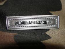 Agrafe FUSILIERS MARINS pour médaille ordonnance militaire Marine Nationale