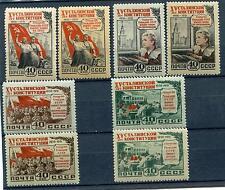 RUSSIA YR 1952,SC 1624-27,MI 1627-30,MNH,STALIN CONSTITUTION,1st ISSUE,READ DESC
