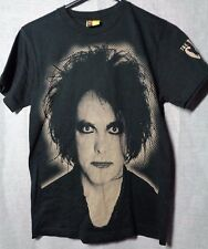 the cure t shirt robert smith goth mod alt emo punk rock all over womens small