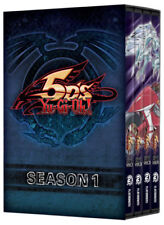 Yu-Gi-Oh! 5Ds Anime TV Series Complete First Season 1 Episodes 1-64 DVD Set One