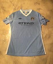 Umbro Woman's Manchester City GB SZ 14 US SZ 10 David Silva #21 football jersey