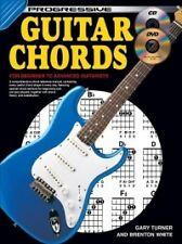 PROGRESSIVE GUITAR CHORDS Book + CD & DVD