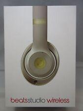 NEW Beats Studio 2 Wireless Over-Ear Headphones (2016 Gold Edition) OPEN BOX