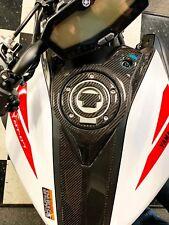 Real carbon fiber Fit Yamaha MT07 MT-07 2018 tank protector pad Trim modd kit