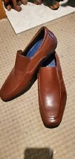 Mens Ecco J75 Mens Patric Tan Slip On Loafer Casual Shoes Flats size 13
