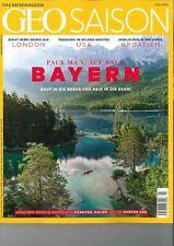 GEO Saison Reisemagazin, Heft Juli 07/2019: Auf nach Bayern!+ wie neu +