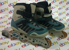 Roller Blades Inline Skates Ultra Wheels Size 7.5 Blue Gray Very Slightly Used