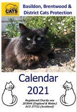 Basildon, Brentwood Branch Cats Protection 2021 Calendar, Ltd Edn, Cats Charity