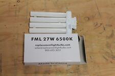 4 Pin Quad Tube Compact Fluorescent Light Bulb Lamp Fml-27W 6500K Lot Of 25
