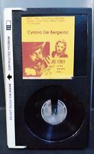 Cyrano de Bergerac (1950) (BETAMAX) Jose Ferrer, Mala Powers - B&W, Rare, HTF