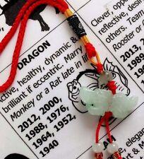 Encanto animal Jade Zodiaco Chino-Dragon - 2000 2012 12 año ciclo Fiesta Po