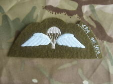 ROYAL MARINES COMMANDO JUMPER PARA WINGS  BADGE - UK RM RN AIRBORNE