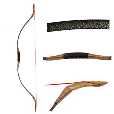 Traditional Recurve Bow Longbow Archery Hunting 50lbs Bow Horsebow Mongolia Bow