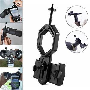 Mobile Phone Adapter Holder Black Telescope Mount For Smartphones Portable Nice
