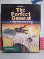 QQP Perfect General - PC Military Strategy Game - 1991 - CDROM