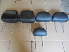 2005 2006 2007 FORD ESCAPE HEAD RESTS BLACK LEATHER (SET OF 5)