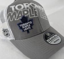 LZ Reebok Adult One Size OSFA Toronto Maple Leafs NHL Baseball Hat Cap NEW E51