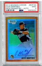 2010 Bowman Chrome Ozzie Martinez Pros. Orange Ref. - Auto PSA 9