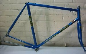 GITANE TEAM REPLICA 1987 REYNOLDS 531 PROFESSIONNEL STEEL VINTAGE BIKE FRAME