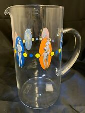 "Playboy Glass Martini Cocktail Pitcher From 2000 With COA Sticker. 7.75"" Tall"