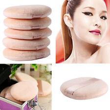 GN- 5 Pcs Face Powder Puff Soft Flawless Cosmetic Makeup Sponge Puffs Tool Peach