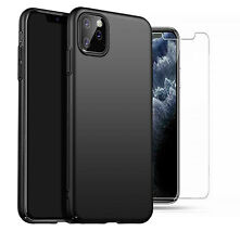 """For Apple iPhone 11 Pro 5.8"""" Case Slim Hard Back Cover & Glass Screen Protector"""