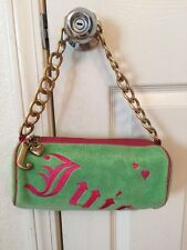 Juicy Couture Velour  Barrel Shoulder Hand Bag