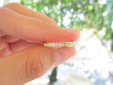 .25 Carat Diamond Yellow Gold Half Eternity Ring 18k codeHE58 sepvergara