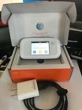 ZTE Velocity MF923 WiFi Mobile Hotspot MiFi - White LOCKED AT&T-NO SIM CARD