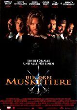 DREI MUSKETIERE, DIE - 1993 - Filmplakat - Sheen - Sutherland - Curry