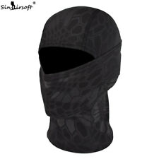 Tactical Outdoor Camo Quick-Drying Face Mask Balaclava Hood Hat Airsoft TYP
