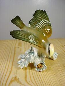 Karl Ens Goldcrest & Ladybird Porcelain Figurine