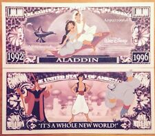 Disney Aladdin Million Dollar Bill